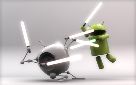 iOS, Android, sistema operativo, steve jobs, Andy rubin, google, apple