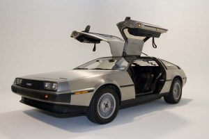DeLorean, maquina del tiempo, back to the future, pelicula
