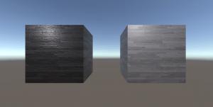 Comparación materiales