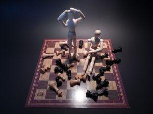juego de ajedres mal aplicado