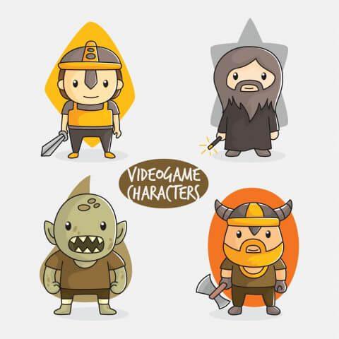 Personajes videojuego